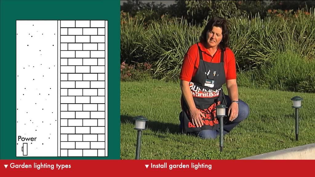 How To Choose Garden Lighting Diy At Bunnings