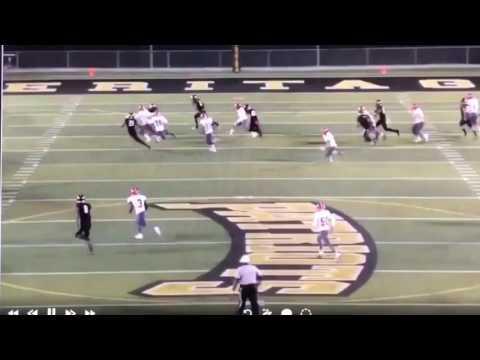 High School Player Destroys Defender With Crack Back Block