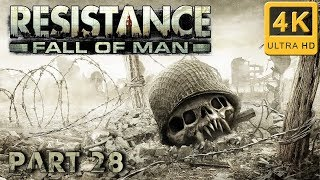 Resistance: Fall of Man Hard Walkthrough | Part 28 | Giant Slayer