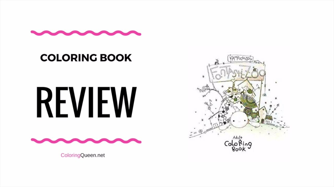 Fantastic Zoo Coloring Book Review Kameichido Ryouichi Tajima
