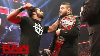 Seth Rollins interrupts Kevin Owens' WWE Universal Championship Coronation: Raw, Sept. 5, 2016 thumbnail