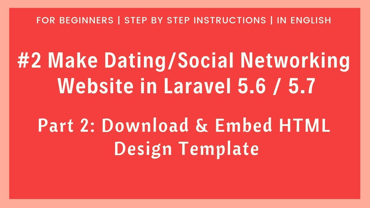 dating sites html template