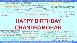 Chandramohan   Languages Idiomas - Happy Birthday
