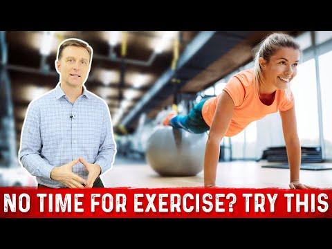 No Time For Exercise? TRY THIS!