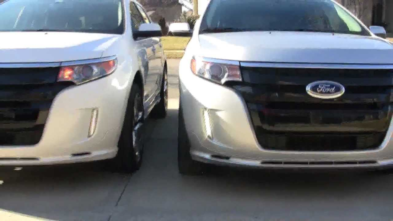 Daytime Brightlites Led Drls Vs Ford S Stock Oem Lights