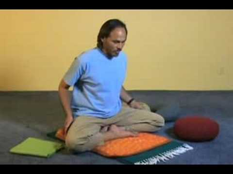 Meditation For Beginners Sitting On A