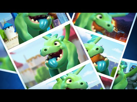 Thumbnail: Clash Royale: Baby Dragon Raps