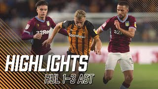 Hull City 1-3 Aston Villa | Highlights