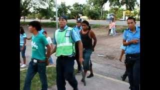 Policia Nacional, realiza cateo en Chaguitillo y en Sébaco