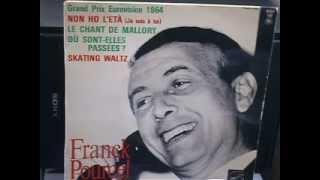 Franck Pourcel et son Grand Orchestre  Le chant de Mallory  1964 (Eurovision)