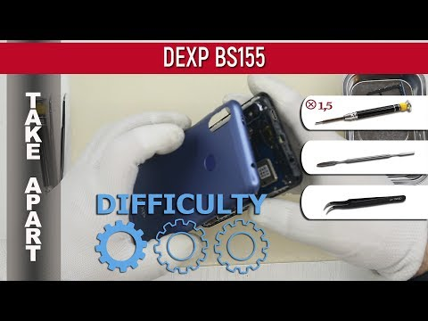 How To Disassemble 📱 DEXP BS155 Take Apart Tutorial