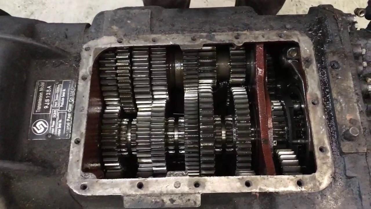 Маз ремонт своими руками кпп