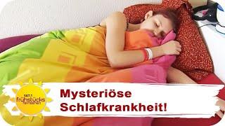 Narkolepsie: So sieht Sarahs Alltag mit Narkolepsie aus   SAT.1 Frühstücksfernsehen   TV