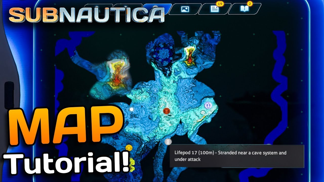 Subnautica Karte Anzeigen.Subnautica How To Get A Map Qmods Updated Subnautica Mods 1 Addition