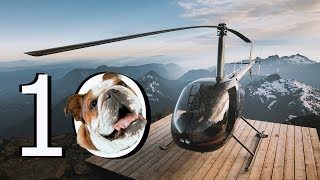Awesome Helicopter Landing Spots - Rating Helipads