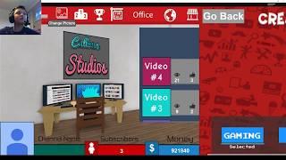 Roblox Playing Tuber Simulator Episode 1