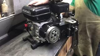 Реверс редуктор с центробежным сцеплением