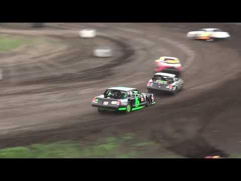 IMCA Stock Car Heat 3 Benton County Speedway 7/21/19