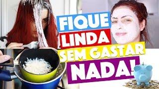 FIQUE LINDA EM CASA #6 - SUPER ALISAMENTO CASEIRO E MAIS! 💆💫 | KIM ROSACUCA