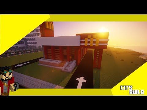 Minecraft | City build #11 McDonalds