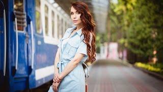 Стильное голубое платье-халат с Aliexpress