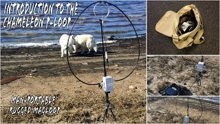 Chameleon P-Loop Introduction Rugged Ham Radio Magnetic Loop Antenna
