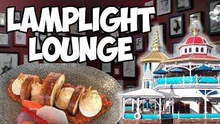 Lamplight Lounge - Food Review + Tour (SECRET ROOM!)