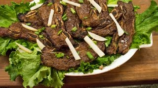Korean Beef BBQ  Kalbi Recipe