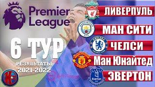 Английская Премьер Лига АПЛ Сезон 21 2022 6 Тур Первое поражение Ман Юнайтед