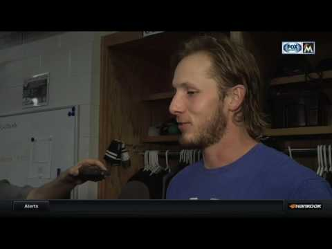 Adam Conley -- Miami Marlins at Texas Rangers 07/24/2017