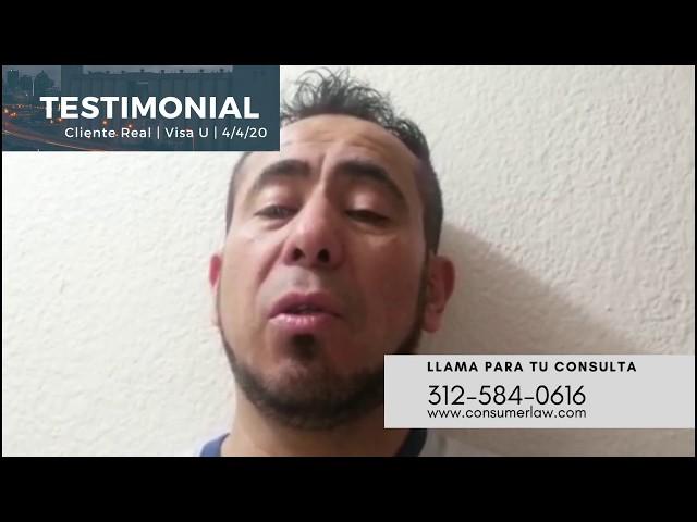 Cliente Real 04/11/20: Felicidades su Visa U ha sido aprobada Sr. Espinoza