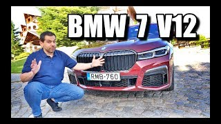 BMW M760Li 2020 - z przodu grill, z tyłu styl (PL) - test i jazda próbna