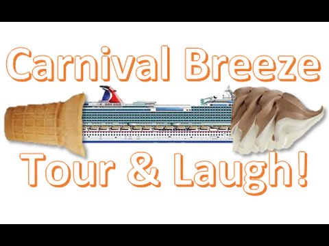 "Carnival Breeze: A ""Cruise Virgin"" GoPro Adventure! - Dec. 19, 2015 Exotic Caribbean Carnival Cruise"