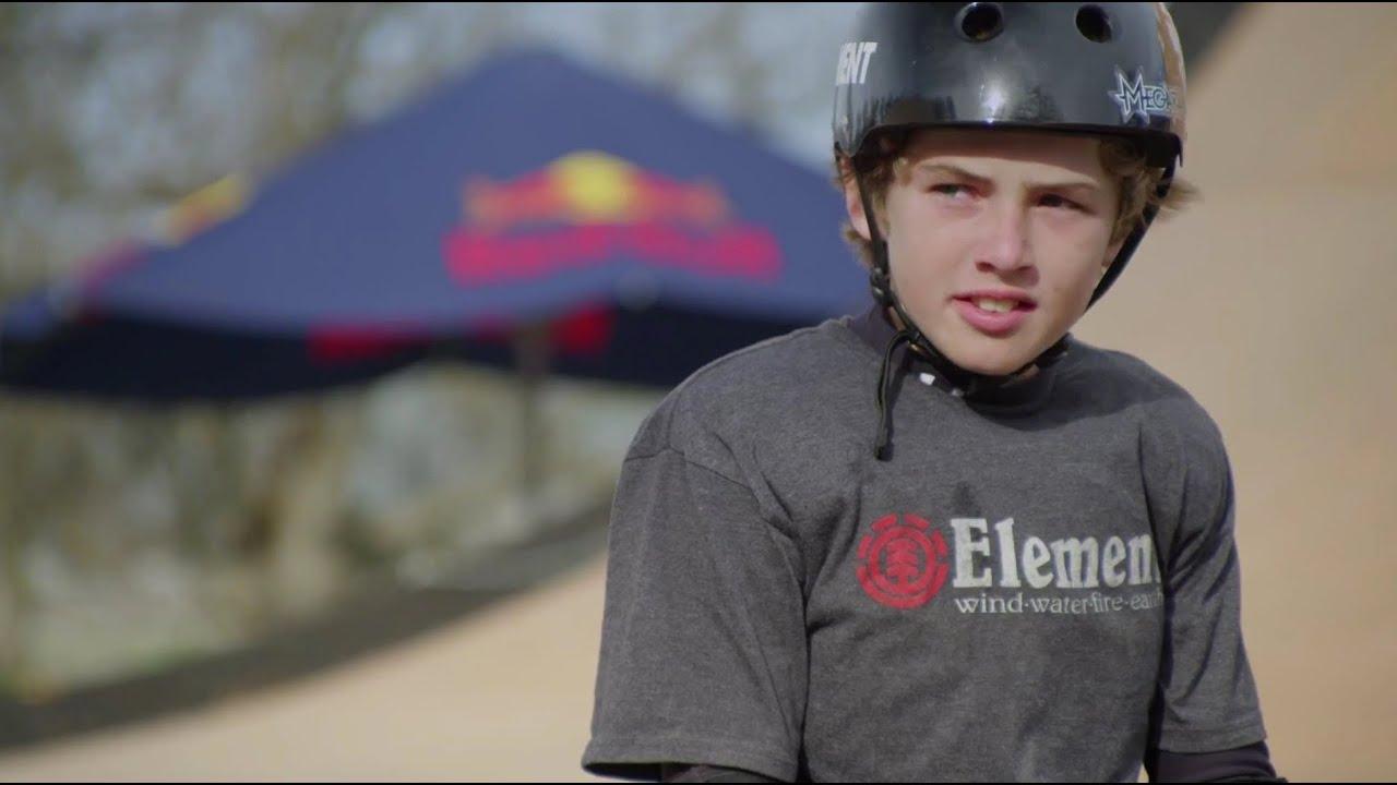 Download Tom Schaar stomps first-ever skateboarding 1080
