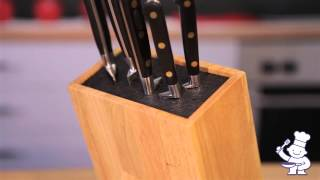 Grunwerg Universal Knife Block - Blk-682