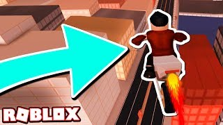 JAILBREAK MythBusters: USING THE MOTORCYCLE TO STOP FALL DAMAGE!! (Roblox Jailbreak)