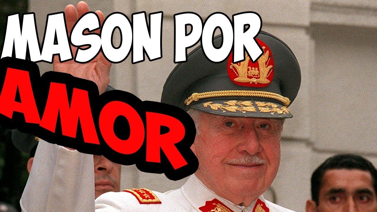 AUGUSTO PINCHET fue MASON por Amor - YouTube