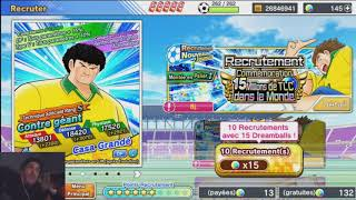 CAPTAIN TSUBASA DT mini REVIEW + MINI INVOC 15M DE TELECHARGEMENTS