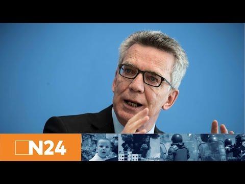 Kriminalstatistik 2016:Thomas de Maizière  hält Verrohung der Gesellschaft für besorgniserregend