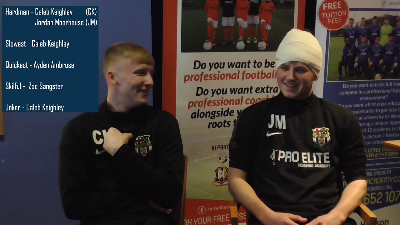 eba4838bf23 Teammates: Caleb Keighley & Jordan Moorhouse - YouTube
