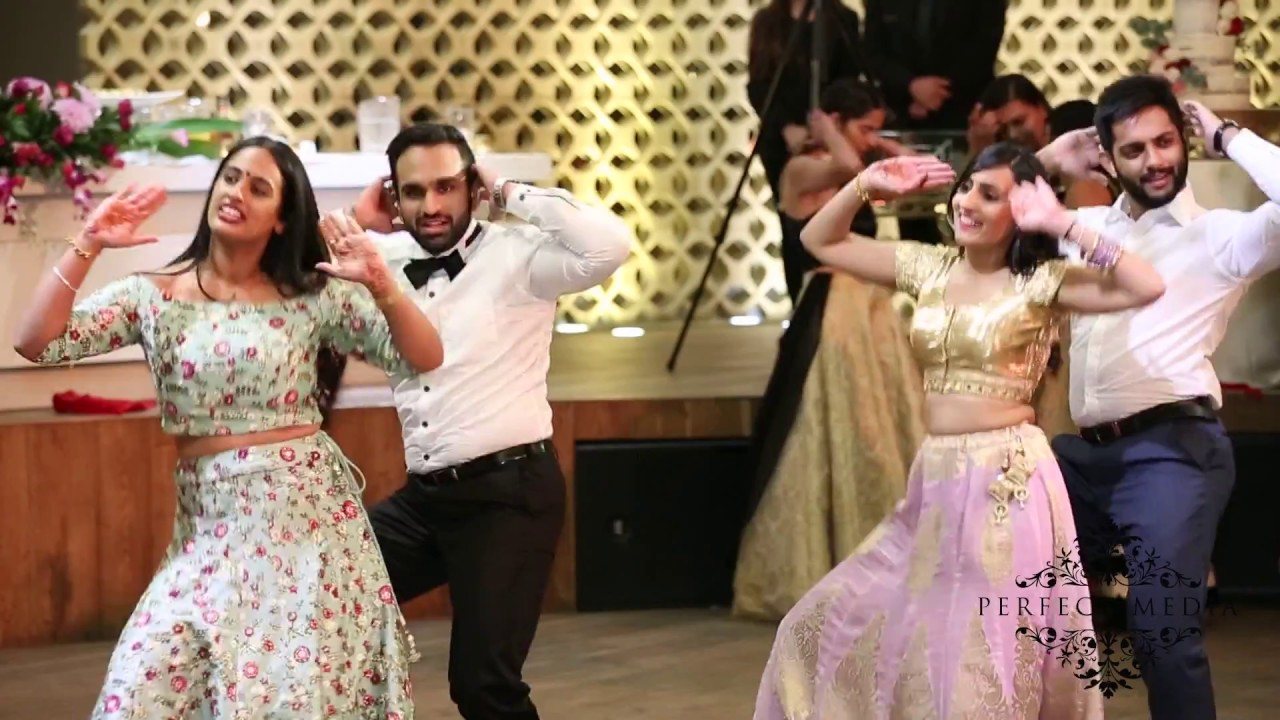 Best Indian Wedding Reception Dance 2017 Bollywood Punjabi