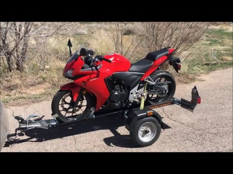Complete Motolug Motorcycle Trailer Review in the USA