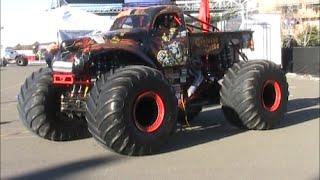 Monster Jam Pits Petco Park 1-17-2015
