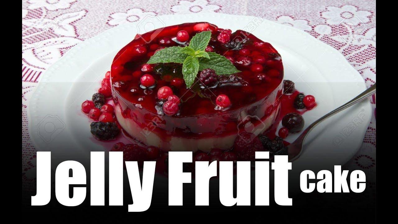 Fruit And Jelly Cake Recipe: World's Best Fruit Cake - YouTube
