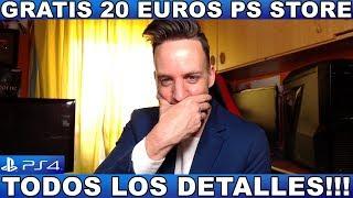 ¡¡¡GRATIS 20 EUROS PS STORE / PS4!!! - Hardmurdog - Noticias - 2019 - Español