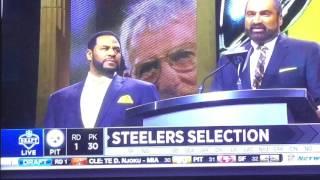 steelers speech and pick draft 2017