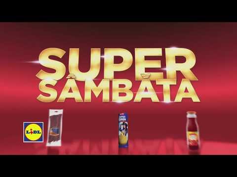 Super Sambata la Lidl • 13 Ianuarie 2018
