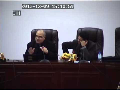 Conférence de Mr A.Herzallah à l'université de Bouira sur l'Assurance Qualité - 09/12/2013