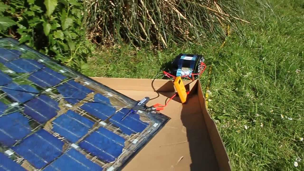 Ultracapacitor Supercapacitor Charged Solar Powered B