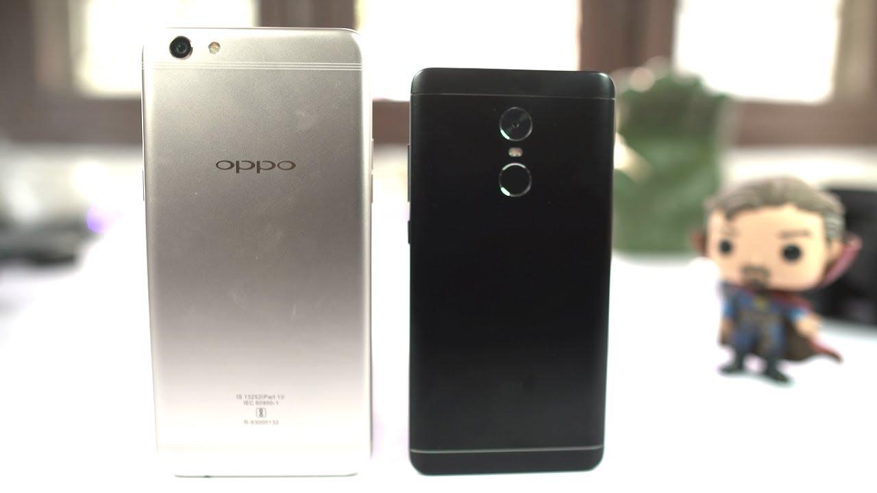 Compare: Oppo F3 Plus (6GB RAM) vs Xiaomi Redmi Note 4 (4GB